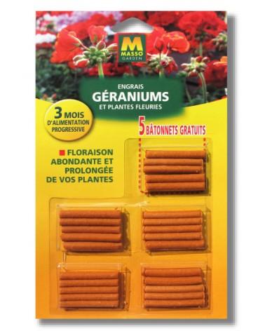 engrais géranium bâton