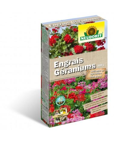 engrais géranium