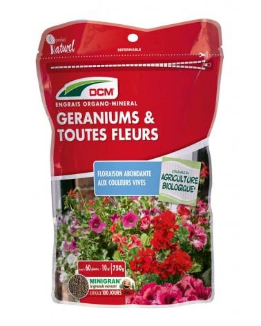 engrais geranium