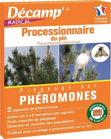 phéromones processionnaire du pin