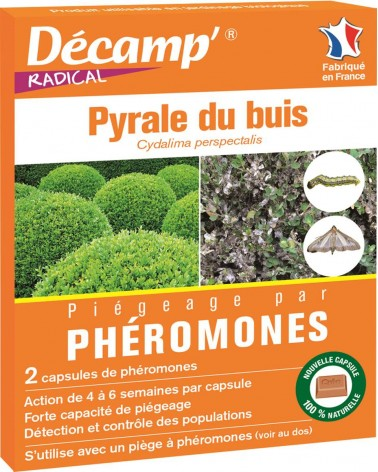 phéromones pyrales