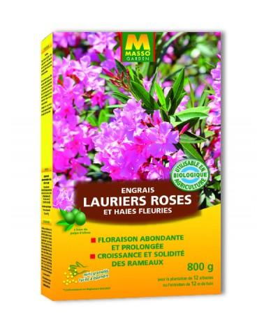 Engrais Lauriers rose